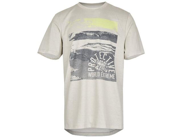 Protective P-Aerials T-Shirt Herr grey melange